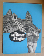 "Dossier De Presse ""Les Mystères D'Angkor"" - Lino Ventura, Martha Hyer - 1960 - Cinema Advertisement"