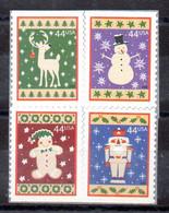 Estados Unidos Serie Nº Yvert 4227/30 ** NAVIDAD (CHRISTMAS) - Nuevos