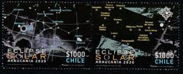 Chili 2020 Eclipse Totale De Soleil Araucania Chile Total Solar Eclipse - Sterrenkunde