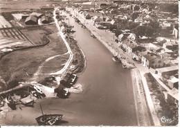 ILE DE NOIRMOUTIER (85) Vue Aérienne - Le Port  CPSM GF - Noirmoutier