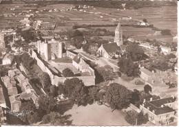ILE DE NOIRMOUTIER (85) Vue Aérienne Du Château Et De L'Eglise En 1953  CPSM GF - Ile De Noirmoutier