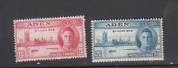 ADEN 1946  * YT N ° 28 - 29 - Aden (1854-1963)