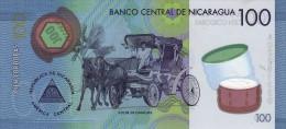 NICARAGUA P. 212a 100 C 2014 UNC - Nicaragua
