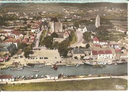 NOIRMOUTIER-EN-ILE (85) Le Port , Le Château Et L'Eglise  CPSM GF - Ile De Noirmoutier