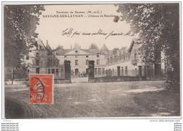 ENVIRONS DE SAUMUR SAVIGNE SUR LATHAN CHATEAU DE BEAULIEU 1914 TBE - Saumur