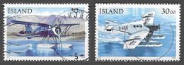 Islande - Avions - Oblitérés - Lot 179 - Gebraucht