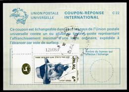ISRAEL InternationalReply Coupon La23 + Post Stamps 9.00 Schekel Reponse Antwortschein IRC IAS o TEL AVIV 19.0x.84 - Briefe U. Dokumente