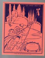 """Protège Cahier """"le Chat Botté"""" Offert Par CHOCOLAT MENIER, Illustré Par JEAN A MERCIER (M1773) - Book Covers"""