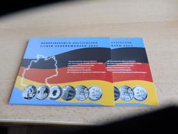 Silber- Gedenkmünzen, 60€, VON 2003; IM FOLDER - Alemania