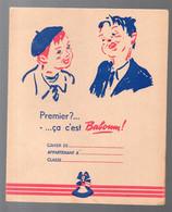 """Protège Cahier """"baboum"""" Offert Par L'ALSACIENNE (M1774) - Book Covers"""
