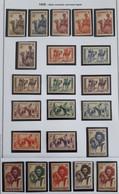 PMo - Mauritanie 1938 Série N° 73 à 94**/* (cote22) - Neufs