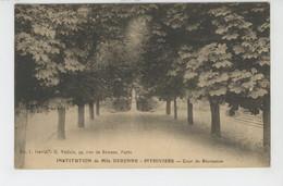 PITHIVIERS - INSTITUTION De Mlle DERENNE - Cour De Récréation - Pithiviers