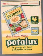 Protège Cahier  Offert Par POTALUX  (voir Description)(M1776) - Book Covers