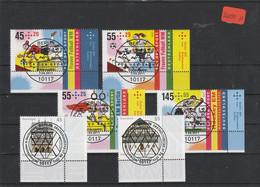 BRD  Deutschland  Eckrand     Mit Ersttagsstempel  MiNr. 2857-2862 - Sin Clasificación