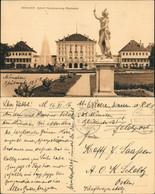 Ansichtskarte München Schloss Nymphenburg Rückseite 1916 - Muenchen