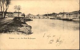 16  COGNAC  Le Pont St Jacques - Cognac