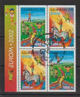 Europa 2002 Azerbadjan 431 A,b Et 432 A,b Oblit. Used - 2002