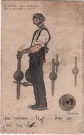 CPA Illustrateur Gabard Jeu De Quilles Pyrénées - Sin Clasificación
