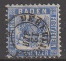 210/ Mi: 18; Used; 1862; Cat €  4.00 - Bade