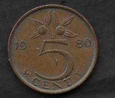 5 Cent 1980 - 1948-1980 : Juliana