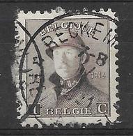 OBP165 Met Relaisstempel Reckem - 1919-1920 Roi Casqué
