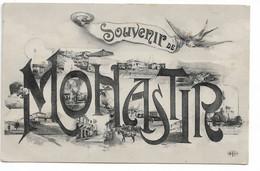 L100H1395 - Tunisie - Souvenir De Monastir - Carte Multi Vues - ELD - Tunisia