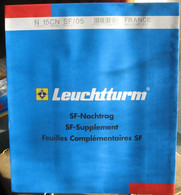 Leuchtturm - JEU FRANCE Pour Blocs CNEP 2005 SF (Avec Pochettes) - Fogli Prestampati
