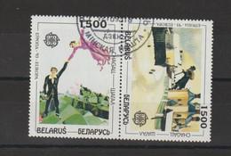 Europa 1993 Bielorussie Chagall 56 Et 57 Oblit. Used - 1993