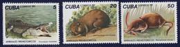 CUBA - Faune, Animaux Préhistoriques - 1982 - MNH - Neufs