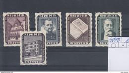 Österreich Michel Cat.No.  Mnh/** 988/993 - 1945-60 Unused Stamps