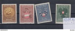 Österreich Michel Cat.No.    Mnh/**  937/940 - 1945-60 Unused Stamps