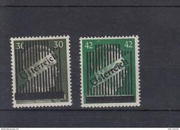 Österreich Michel Cat.No. Mnh/** 672/673 - 1945-60 Unused Stamps