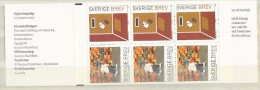 2001 MNH Schweden, Sweden, Sverige, Booklet, Postfris - 1981-..