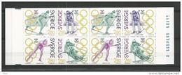 1992 MNH Schweden, Sweden, Sverige, Booklet, Postfris - 1981-..