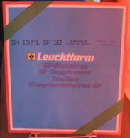 "Leuchtturm - JEU FRANCE Pour Bande ""MUSEE Du LOUVRE 1993"" SF (Avec Pochettes) - Fogli Prestampati"