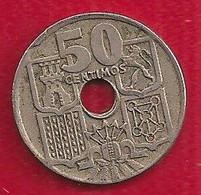 ESPAGNE 50 CENT - 1949 - Sin Clasificación