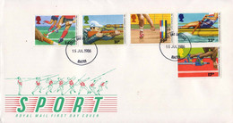 Great Britain 1986, Field Hockey / Shooting / Weight Lifting / Rowing / Athletics / FDC - Other