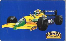 -CARTE²-PUB-CAMEL-1991--Championnat Monde De F1-Les Circuits De La Saison 1991-Retransmission TV La Cinq-TBE - Otros