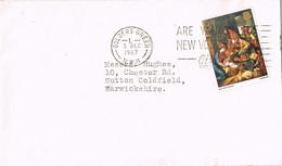 39559. Carta GOLDERS GREEN (England) 1967. CHRISTMAS, Navidad - Covers & Documents