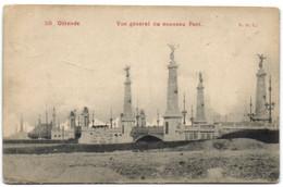 Ostende - Vue Générale Du Nouveau Pont (E.D.L.) - Oostende