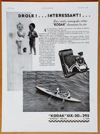 1932 Kodak Six-20 Drôle !... Intéressant !... (Appareil Photo) - Dorothy Gray (Cosmétique, Produits De Beauté)-Publicité - Publicidad