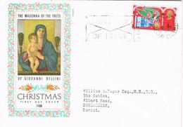 39560. Carta F.D.C. BETHLEHEM (England) 1969. CHRISTMAS, Navidad. Madonna Giovanni Bellini - Covers & Documents