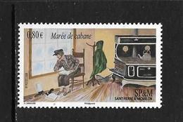 SAINT PIERRE ET MIQUELON 2009 Expressions Locales 'Maree De Cabane' YVERT N°959 NEUF MNH** - Neufs