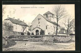 CPA Échannay, L'Église - Non Classificati