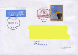 Japan / Japon 2005, Olympic Games / Tokyo / London On A Circulated Cover. - Other