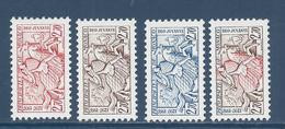 ⭐ Monaco - YT N° 2086 à 2088 B - Neuf Sans Charnière - 1997 ⭐ - Unused Stamps