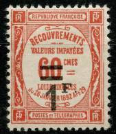 France Taxe (1927) N 53 * (charniere) - 1859-1955 Neufs