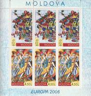 MOLDAVIE - Feuillet N°474/5 ** (2006) Europa - Moldova