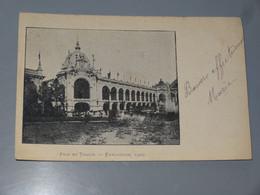 PARIS : Fils Et Tissus, Exposition  1900 ................ 201101a-2317 - Tentoonstellingen