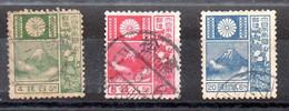 Japón Serie N ºYvert 170/72 O (Nº Yvert 170 Diente Corto) - Gebraucht